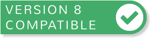concrete5 version 8 compatibility badge