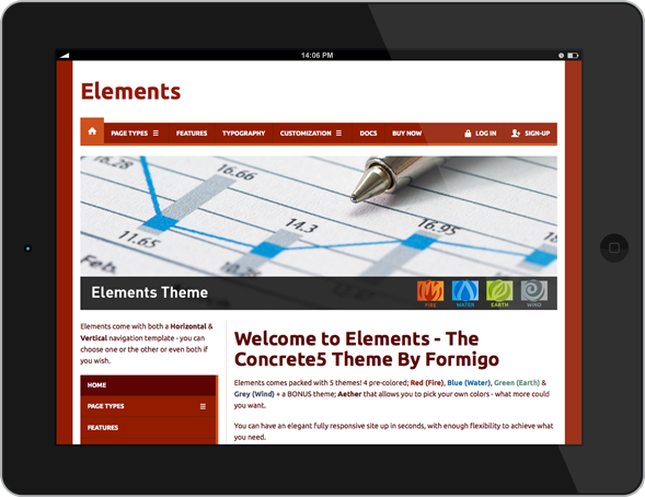 Elements - Tablet